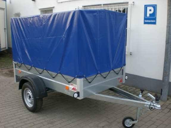 Autoanhänger mit Plane um 25. -/ Tag mieten! bis 750kg (für Übersiedlungen etc.)