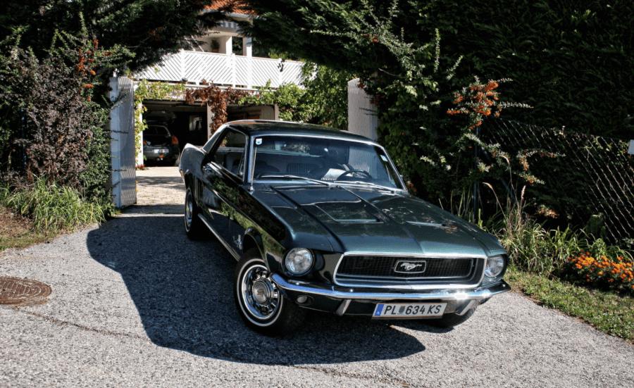Ford Mustang Hardtop Bj. 68