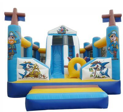 "Hüpfburg ""Multi Play Piratenrutsche"""