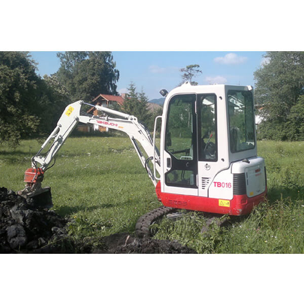 Minibagger Takeuchi TB016 1,8 to