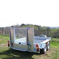 Minibagger Transport inkl. Einschulung Vorort
