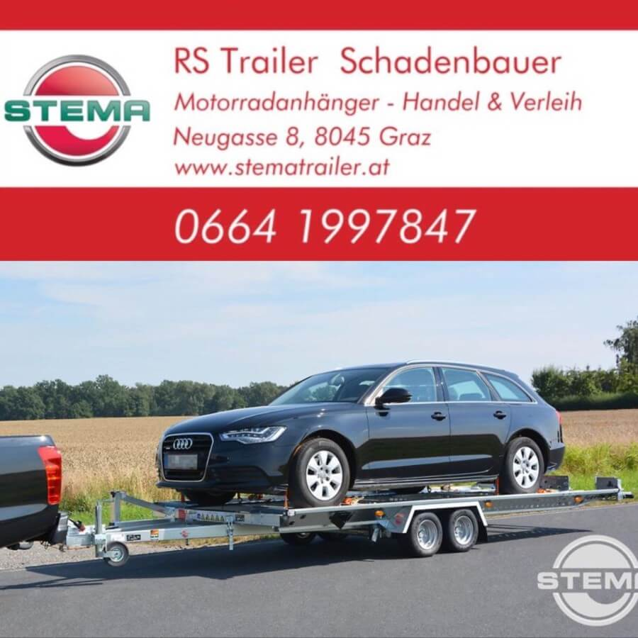 Fahrzeugtransportanhänger Verleih Stema ATH 4.90