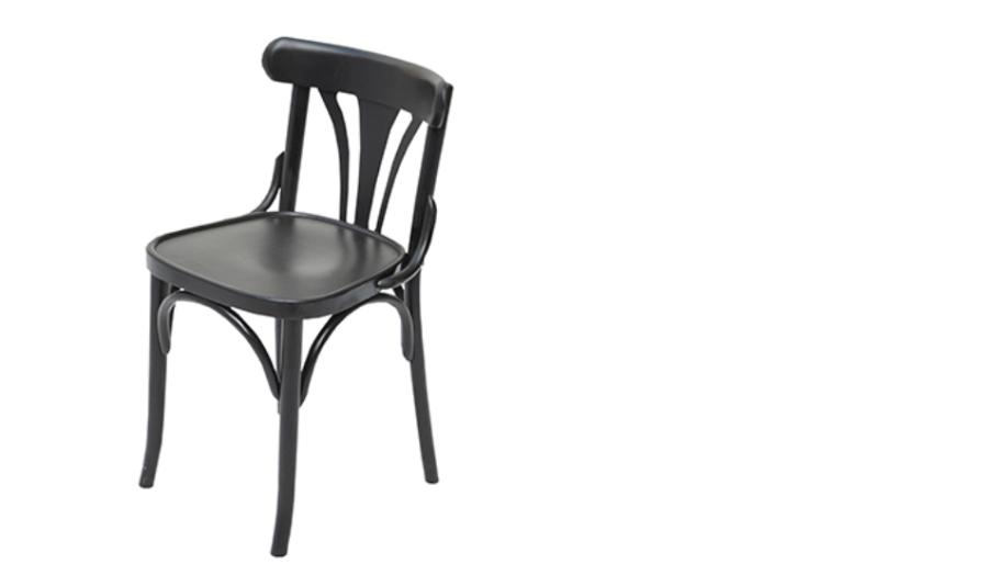 Kaffeehaussessel (schwarz) / Sessel Vermietung