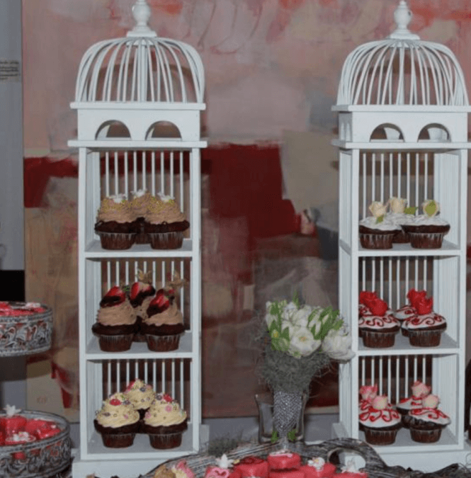 Etagere Cupcake  / Dekoverleih