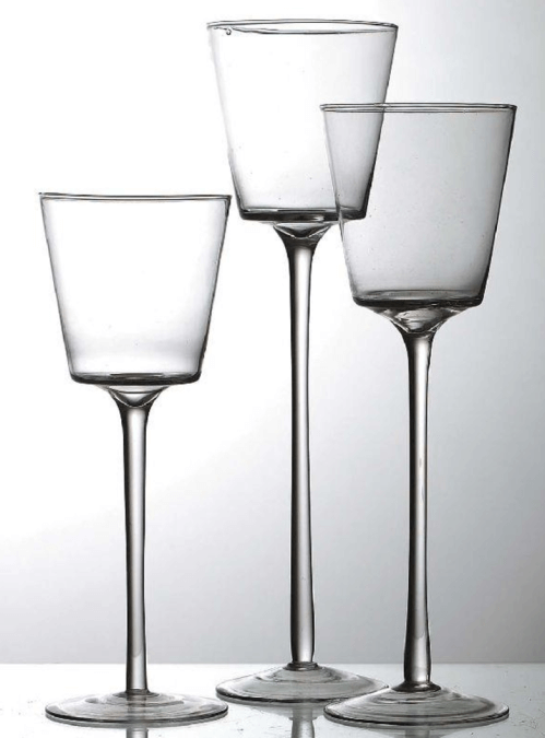 Kerzenhalter Glas / Dekoverleih