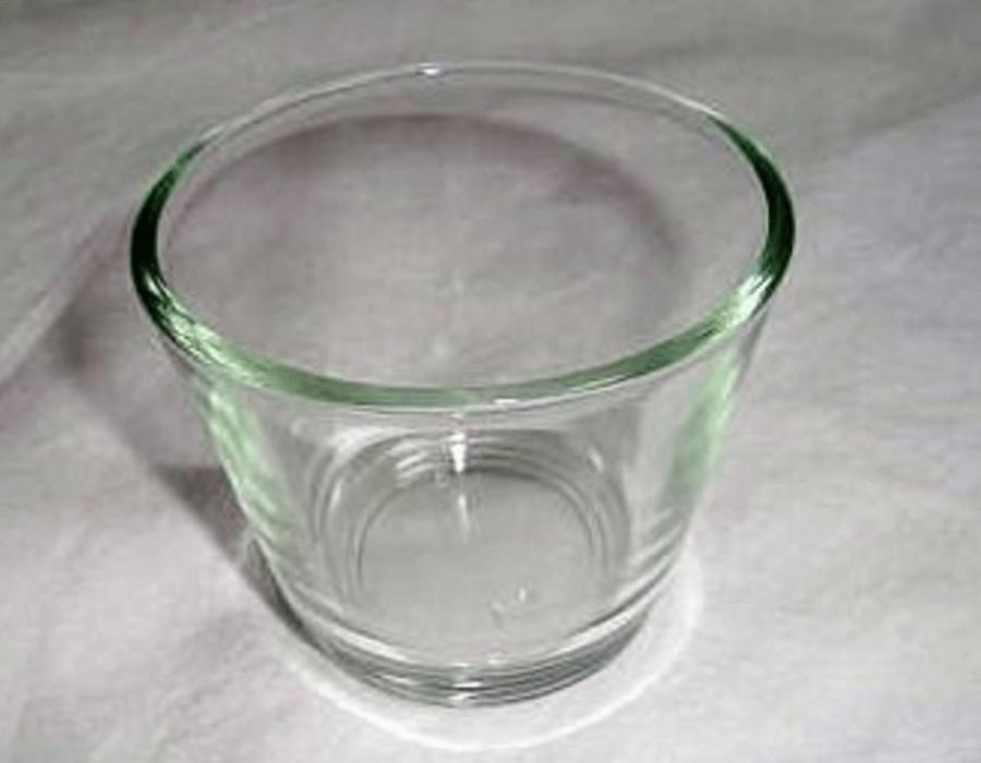 Teelichthalter Glas / Dekoverleih