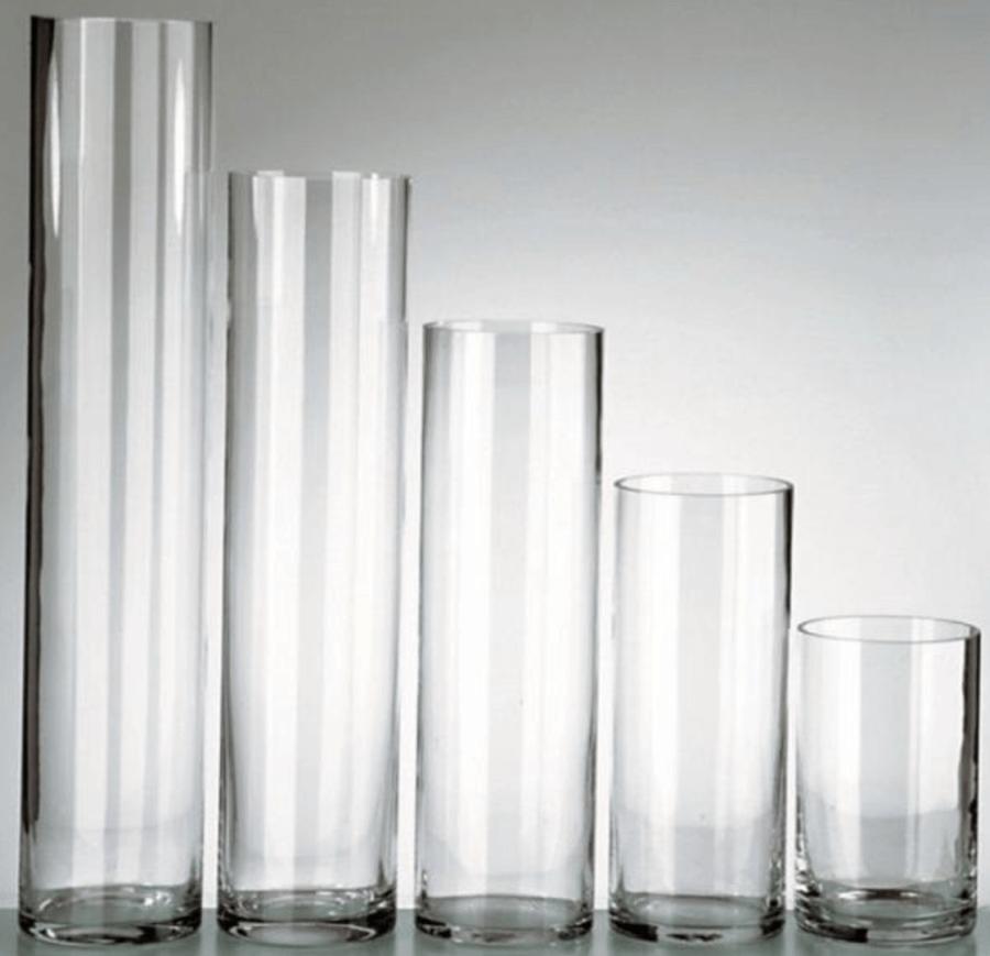 Cylinder Glasvase / Dekoverleih