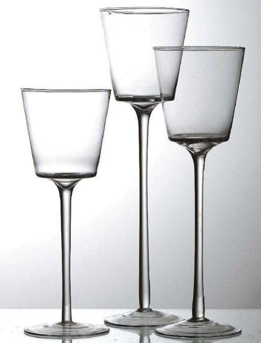 Pokal Glasvase / Dekoverleih