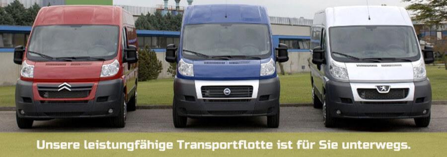 Transporterverleih mit Fahrer / Lastentaxi Wien