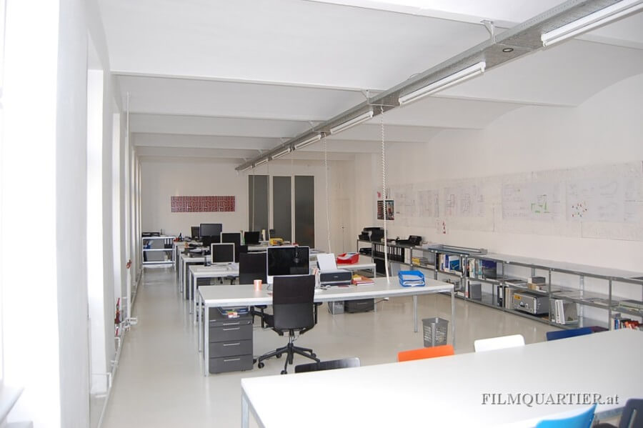 Loft-Büro 130 qm - Großraumbüro