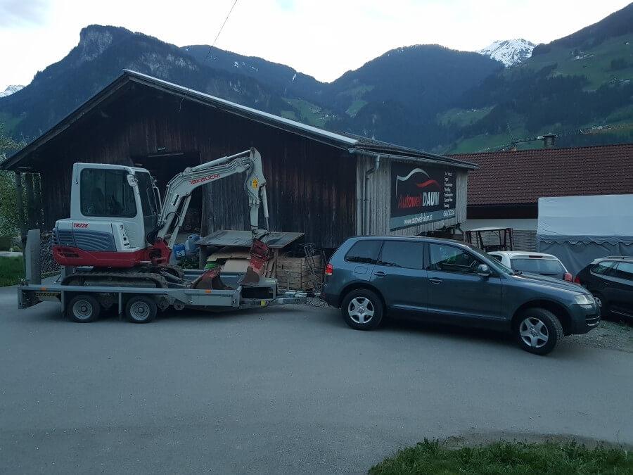 Transporte jeglicher Art innerhalb von Tirol