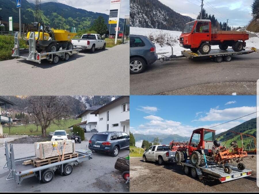 Transporte jeglicher Art innerhalb von Tirol ( anhängerverleih )