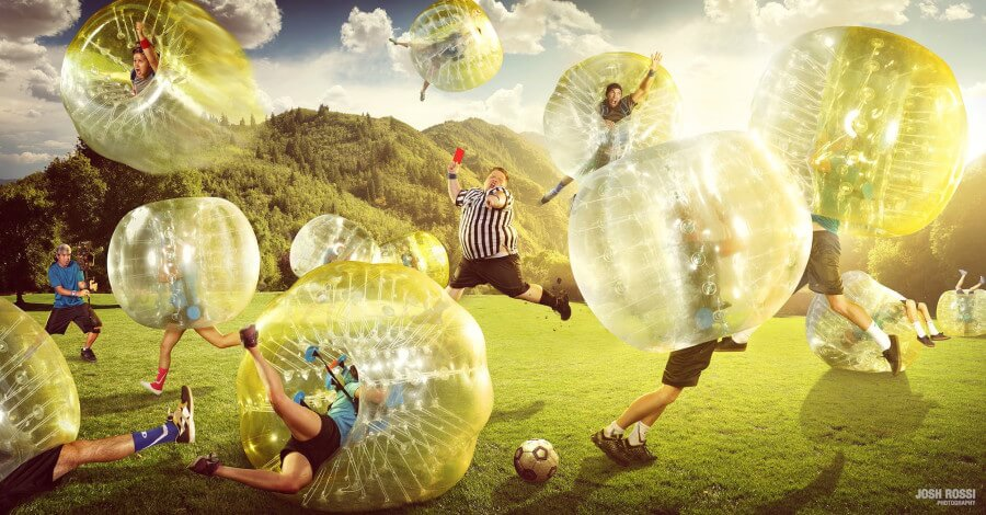 Bubble Football, Bubble Soccer, Bubble Fußball - Wien