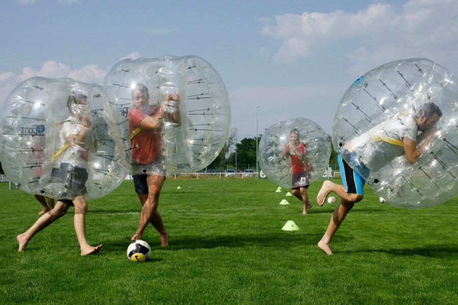 Bubble Soccer bzw Bubble Football in Wien und ganz Österreich