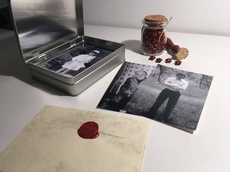 Zeitkapsel die Zeitmaschine für deine Erinnerungen