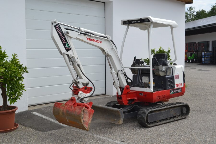 Minibagger 1,6 To