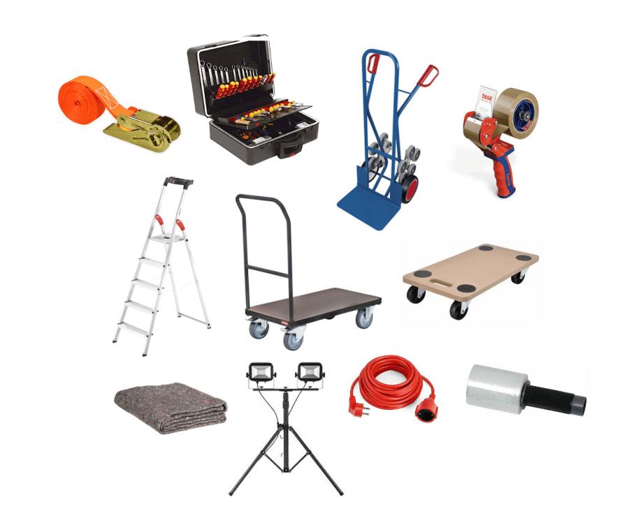 Das horuck-Set  - - Deine Unterstützung für Umzug & Transport