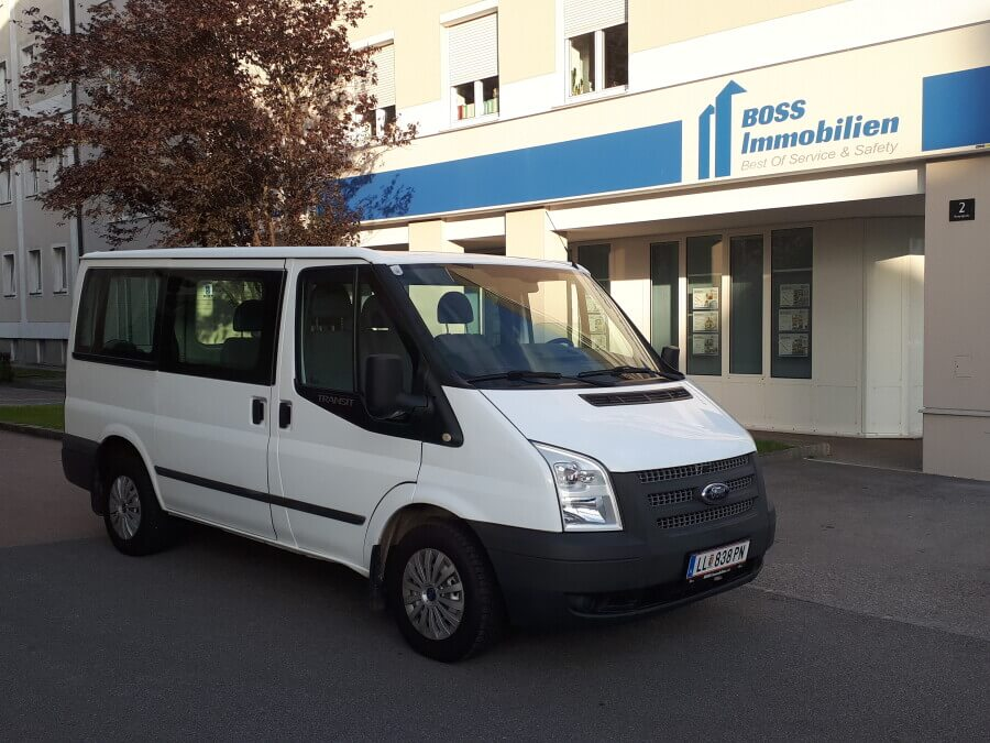 Freizeitbus für 9 Personen. Ford Transit
