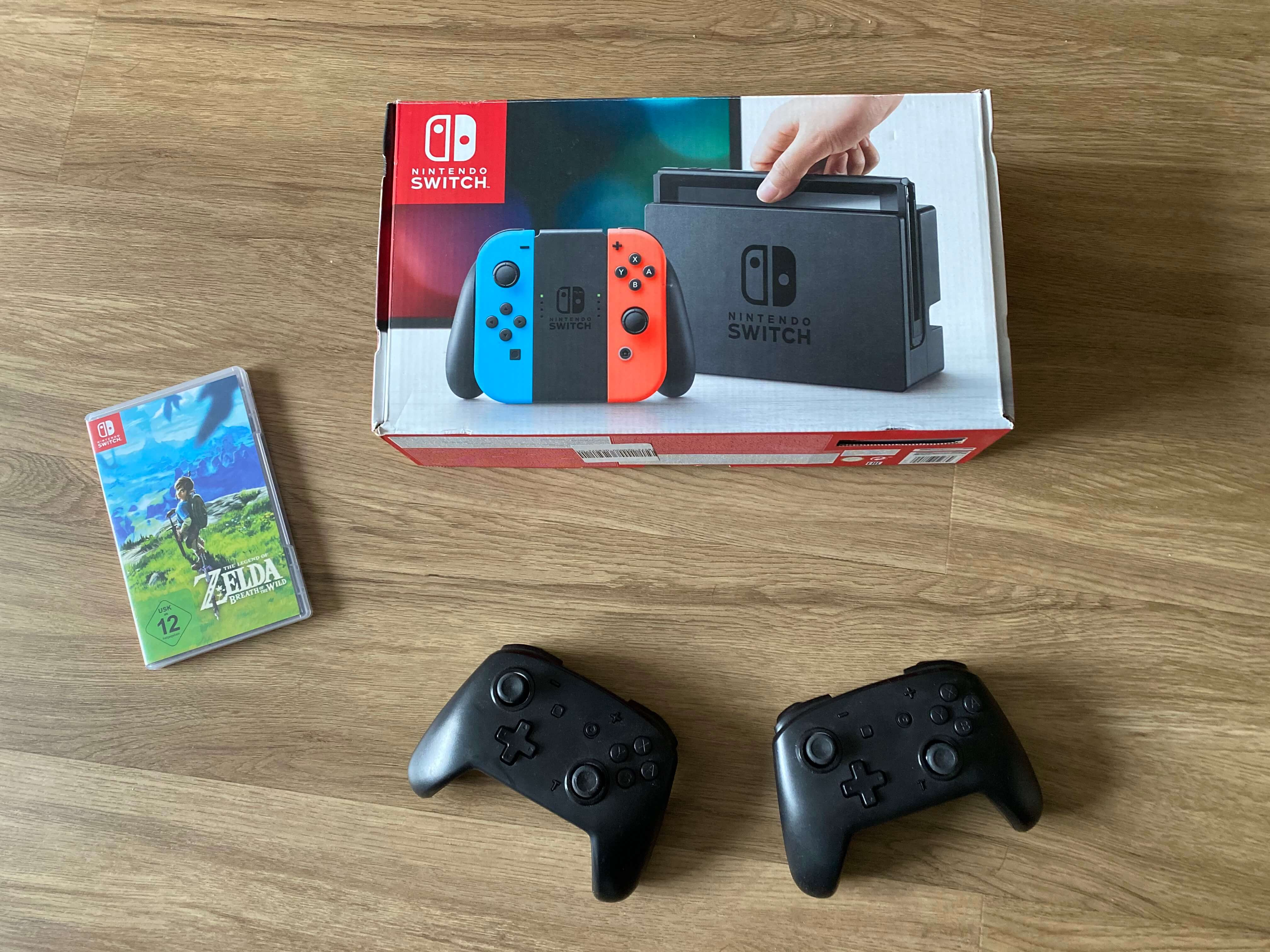 Nintendo Switch zu mieten