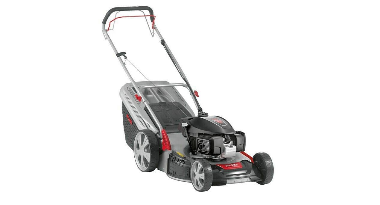 Benzinrasenmäher AL-KO 520 BR Premium 51 cm Schnittbreite, Selbstfahrend, Grasfangbox oder Mulchen
