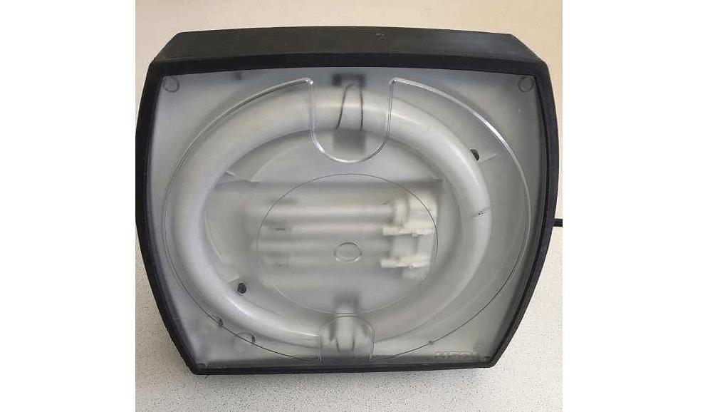 Arbeitsleuchte HEDI Light-Spezial 56 Watt 4000 K mit Eingebauter 4-fach Steckdose und Lichtschalter