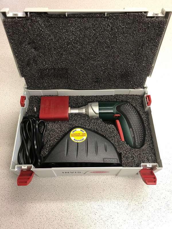Lamello Invis SG-2 Kit Schraubgerät für unsichtbare Möbelverbinder Invis Mx Verbinder