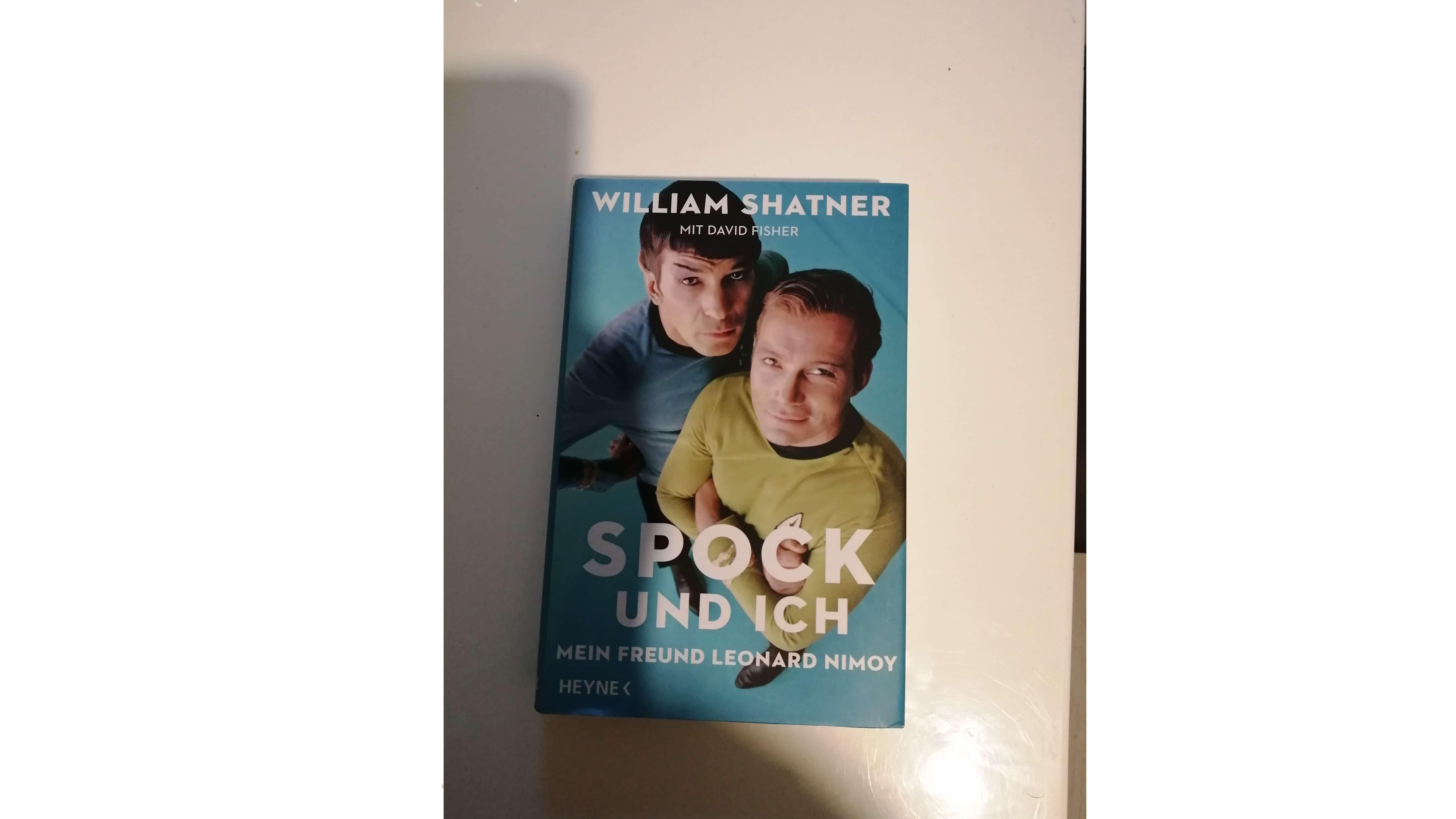Verleihe Buch: Spock und ich - mein Freund Leonard Nimoy