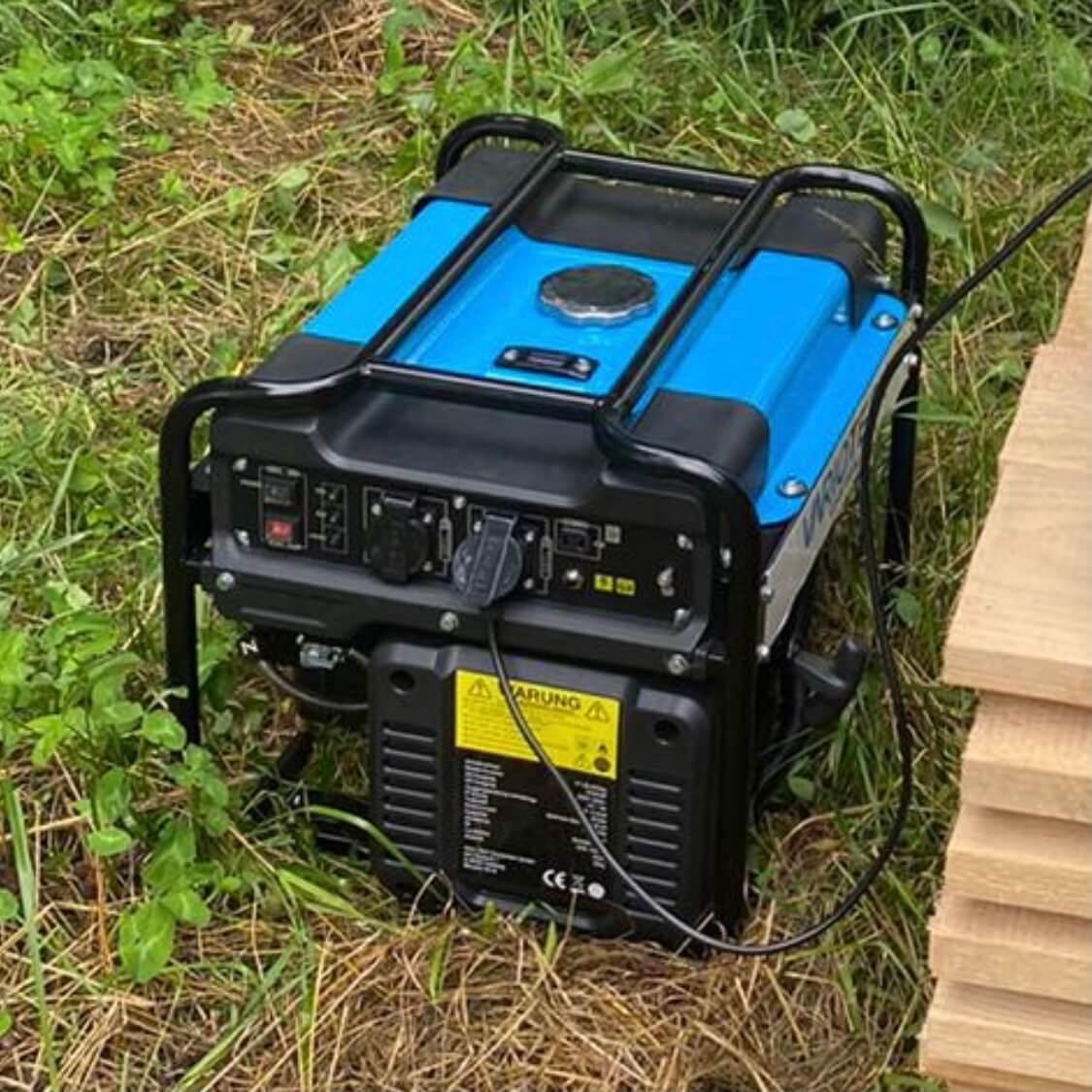 Stromerzeuger / Inverter-Generator 3400 Watt max. bzw. 3200 Watt Dauerleistung