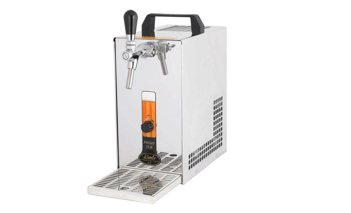 Zapfanlage, Durchlaufkühler inklusive CO2 Flasche - zapffertig