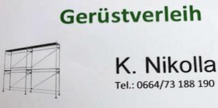 Gerüstverleih K. Nikolla